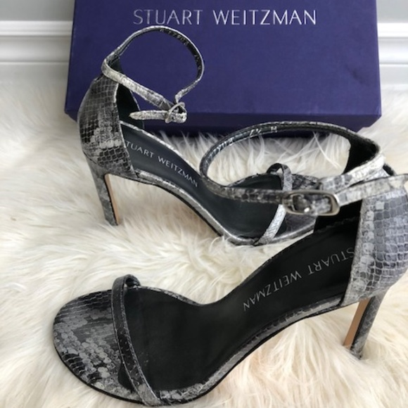 Stuart Weitzman Shoes - Stuart Weitzman Nudistsong Rock Medley Python